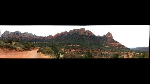 Sedona, AZ - Second View from Schnebly Hill Road