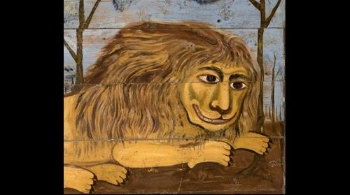 The lion head