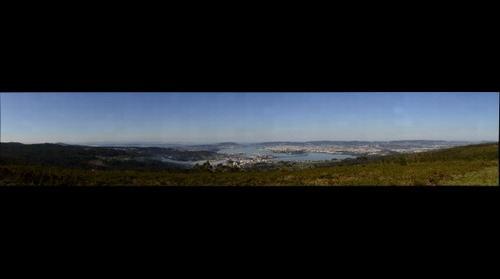 Ferrol desde o monte Marraxón