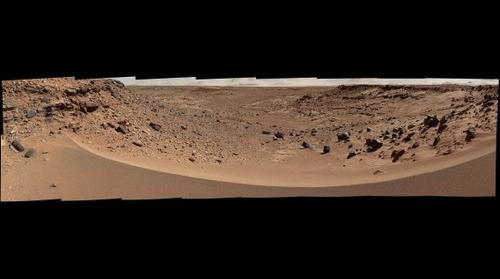 MARS: Martian Valley at Dingo Gap