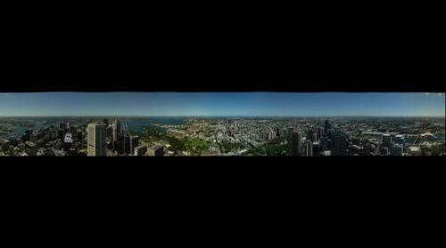 Sydney (from Sydney Tower)