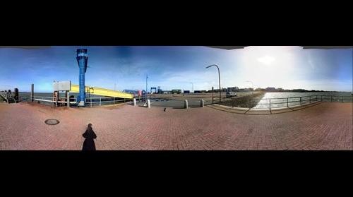 Port of Wittduen at the island of Amrum (Germany)