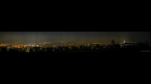 Panorama of Skoczów