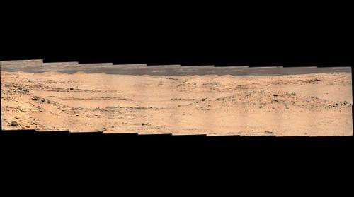 Curiosity sol 0567 panorama