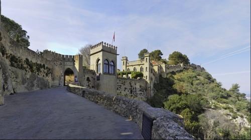 Entrada al castillo de Xàtiva