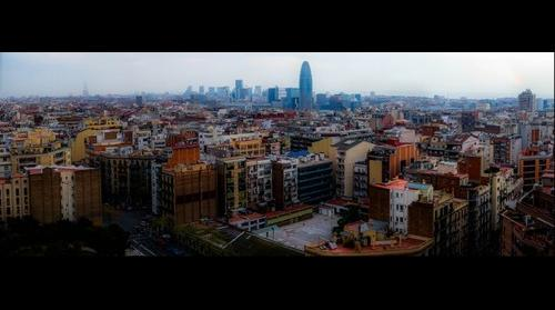Barcelona - Sagrada Familia View