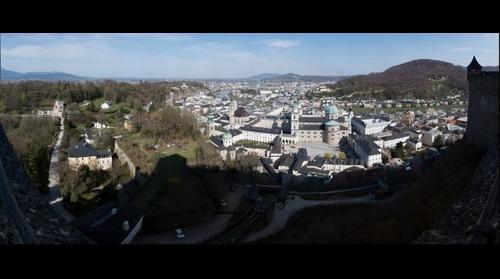 Salzburg from Hohensalzburg Castle