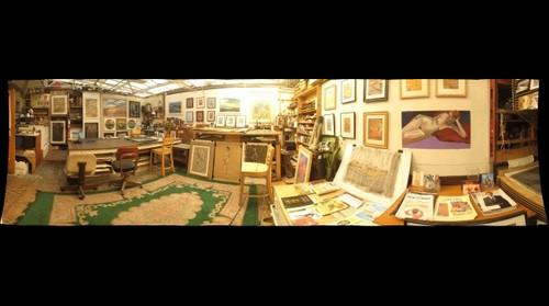 mick's studio