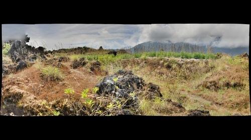 Batur Lava Field, Bali Indonesia