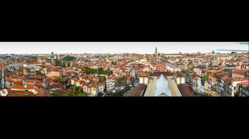 O Porto - a partir do Centro Historico, para Sul