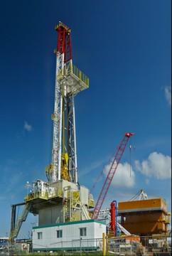 NOV drilling rig, Nisku