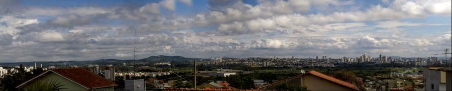 Mogi da Cruzes vista da Vila Suissa