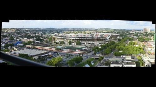 Gigafoto do Estádio do Arruda