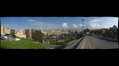 Downtown-East Cityscape Beirut, Lebanon