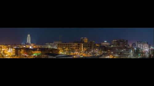 Panorama of Lincoln Nebraska