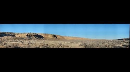 Bluff near Casa Rinconada, Chaco Culture NHP