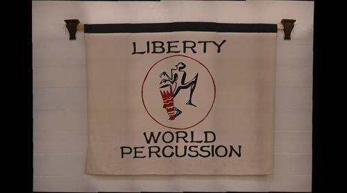 Liberty World Percussion Logo