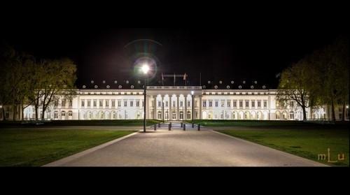 Kurfürstliches Schloss bei Nacht