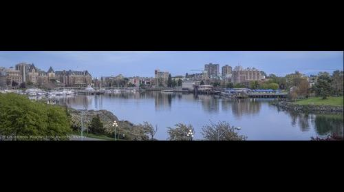 Pano: Inner Harbour 2014 Easter [4x1]