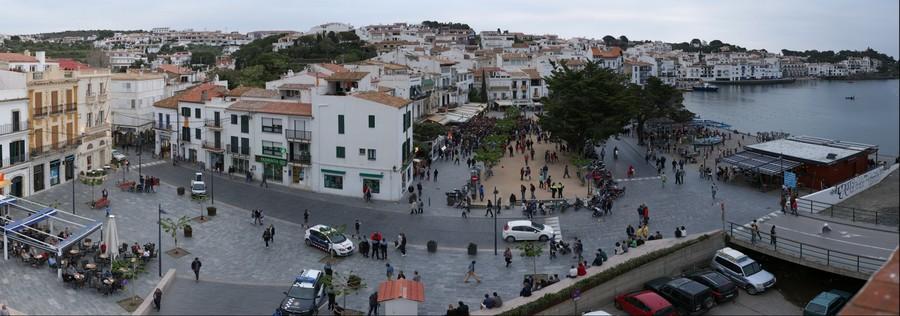 Acte de recolzament a Rafael Martí Faixó a Cadaqués