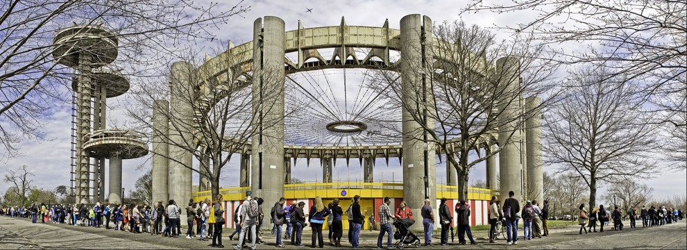 INTERACTIVE IMAGE- The New York State Pavilion reopened Tuesday