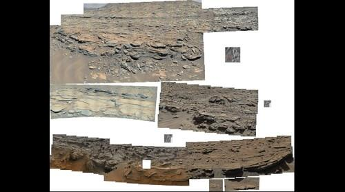 MSL Curiosity @The Kimberley Sol 601 to 609