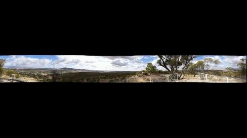 360 from the top of Mount Brown, York, Western Australia