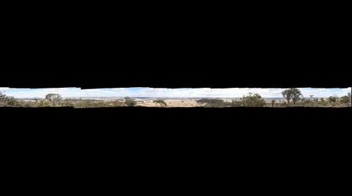 360: A view of the wheatbelt from Beverley's County Peak, Western Australia