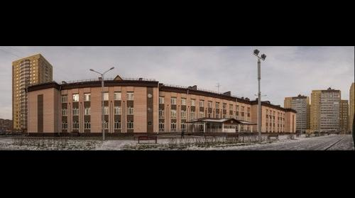 Школа 94 Тюмень, фасад
