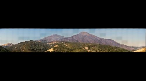 Mount Diablo after Morgan Fire - 2013-09-27