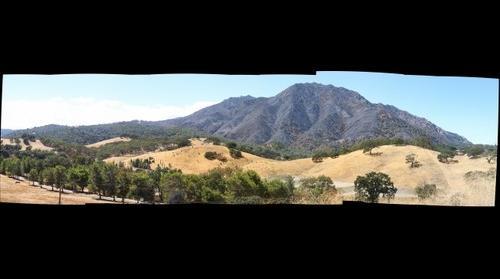 Mount Diablo after Morgan Fire - 2013-09-20 (Low-res)
