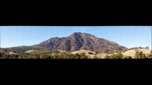 Mount Diablo after Morgan Fire - 2013-12-09