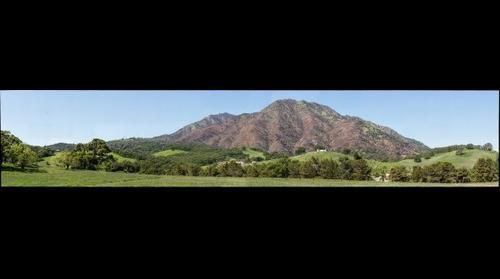 Mount Diablo after Morgan Fire - 2014-04-07