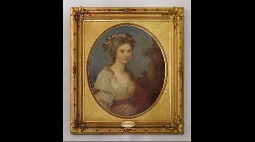 Dorothea Herzogin von Kurland im Museum Burg Posterstein