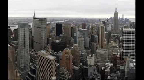 Midtown East as seen from the Rockefeller tower