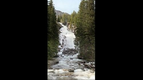 Hidden Falls - Yellowstone