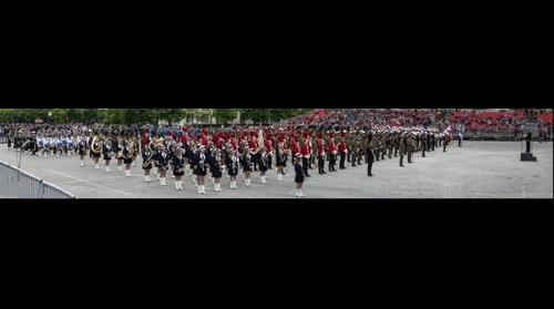 Brass band parade Bucharest 2014