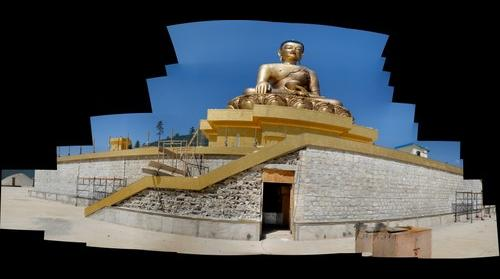 Buddha Statue in Thimpu Bhutan