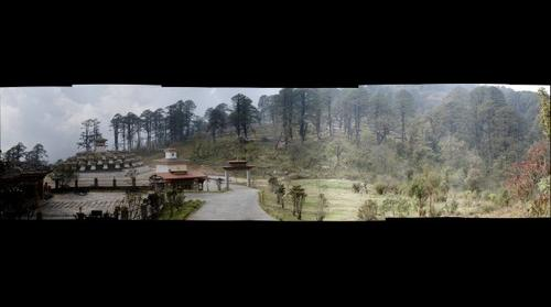 Mountain Pass Bhutan