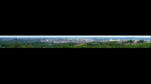 View of Ostrava from heap Ema