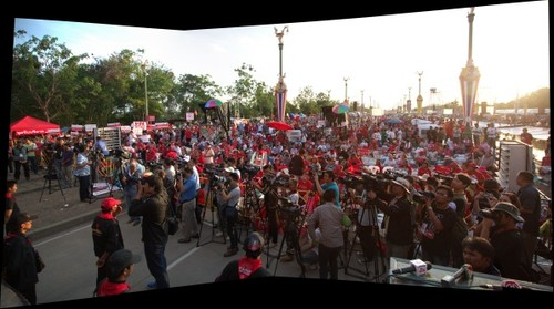 UDD Red Shirt Rally, Bangkok, Thailand