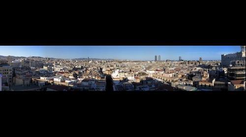Barcelona Roof Top View