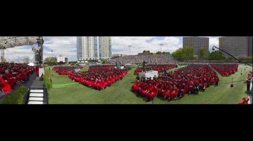 Boston University Commencement 2014