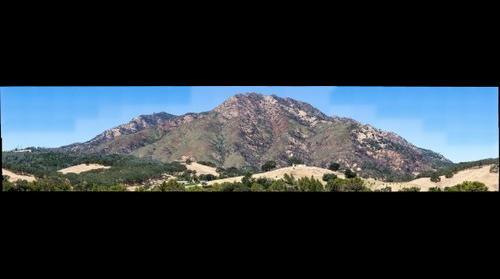 Mount Diablo after Morgan Fire - 2014-05-26 - 400mm