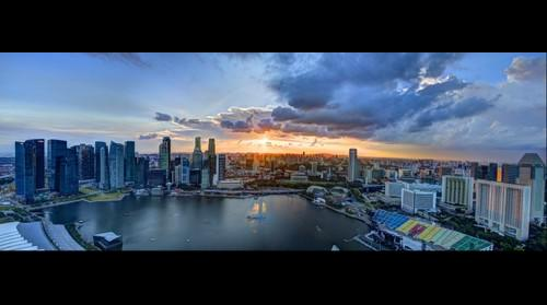 Singapore Marina Bay Sands HDR