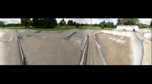 Skatepark at Pier Park