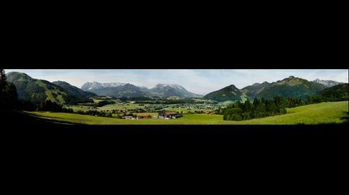 Panorama Kössen Kaiserwinkl