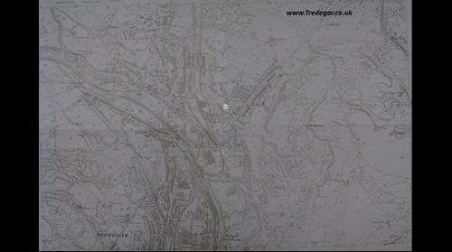Tredegar Map - North 1901