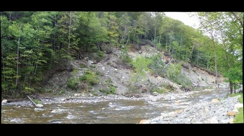 Cold River slump June 4 2014