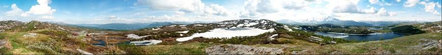 Korgen mountain 360, early June.